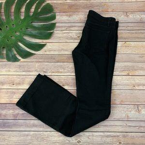 Rich & Skinny women's black flare leg jeans